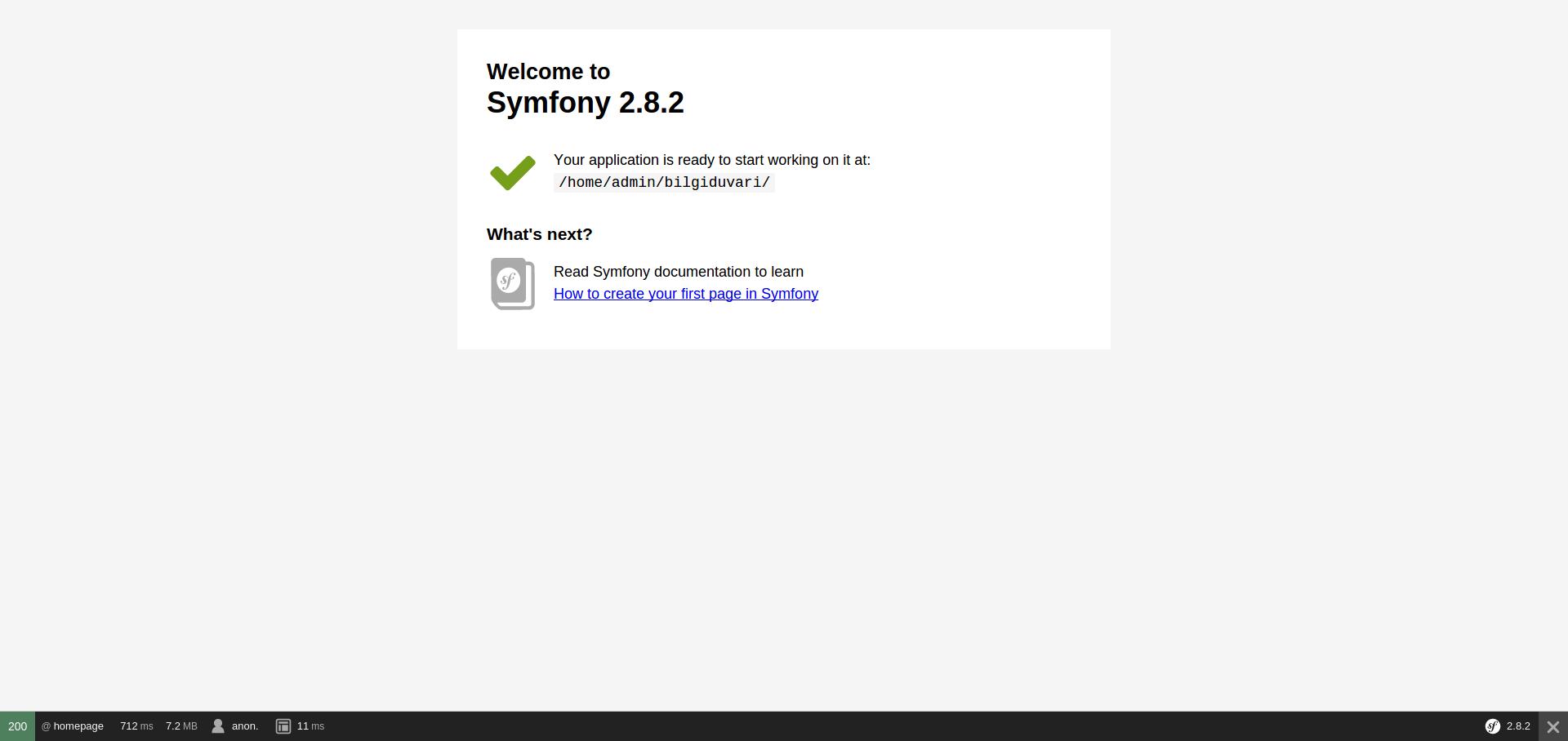 symfony2-homepage